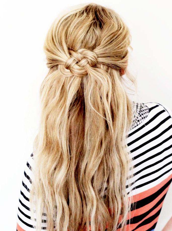 Penteados atados e deslumbrante Casual e festa idéias Hairstyling