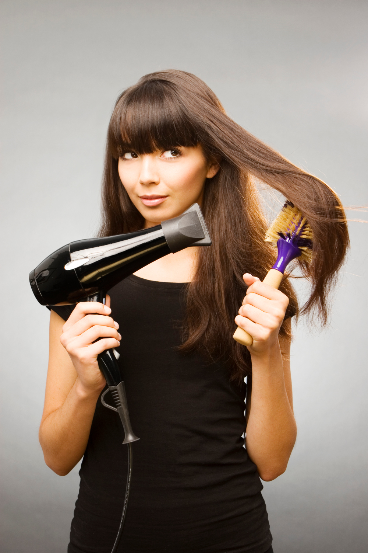 Idéias para Straight seu cabelo sem Straightener: