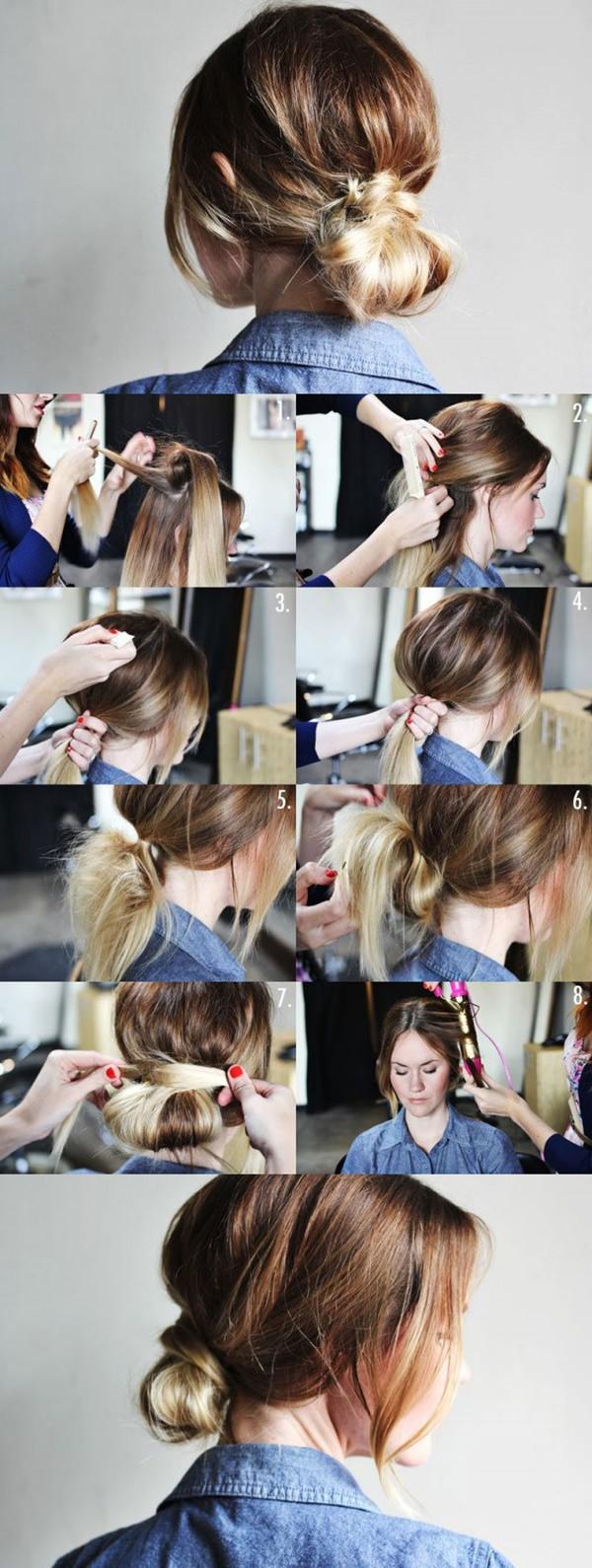 72 surpreendentemente criativo updos para cabelos longos