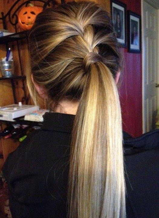 Excelente jovem rabo de cavalo idéias de estilo de cabelo