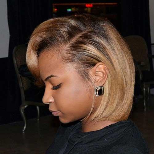 Corte de cabelo curto bonito para mulheres negras