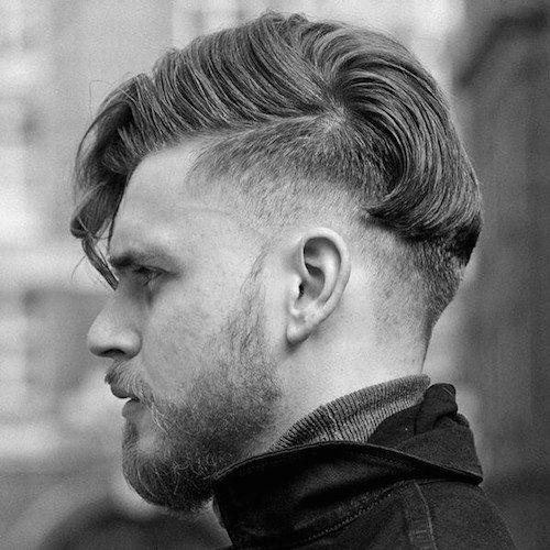 55 Coolest Short Sides Long Top penteados para homens