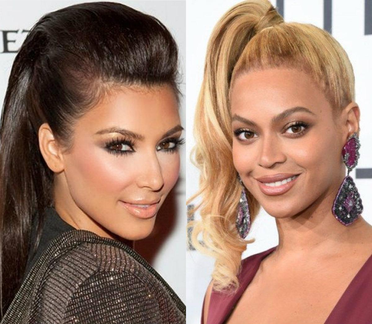 Celebridades exclusivas com os mais recentes penteados, cortes de cabelo e cores de cabelo