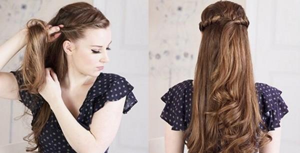 Mais recente Hair Style 2018 para meninas