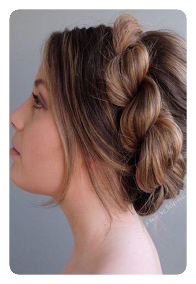 78 penteados de trança de corda única e elegante