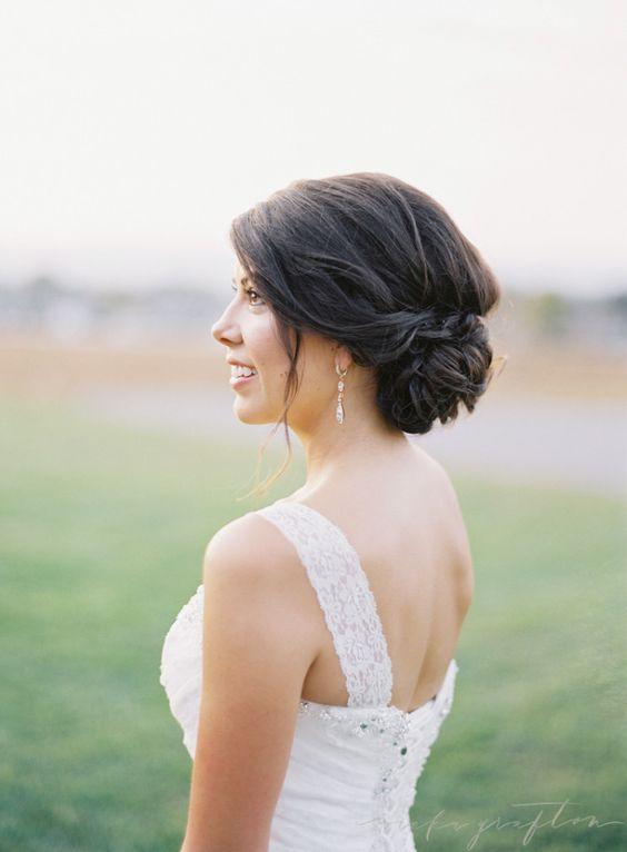 Vários Updo Bridal Famoso para Casamento