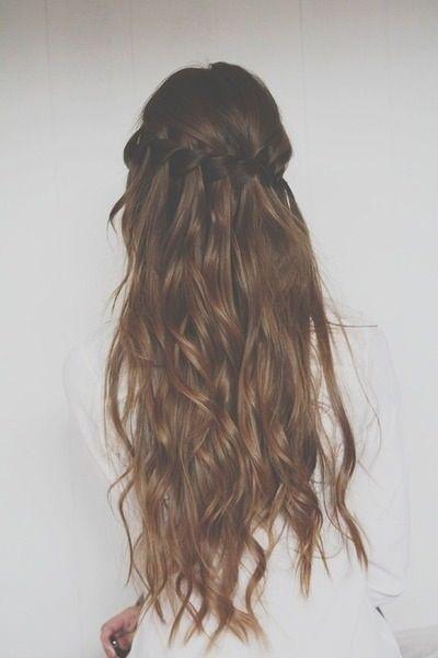 Pontas surpreendentes do penteado para cabelos longos