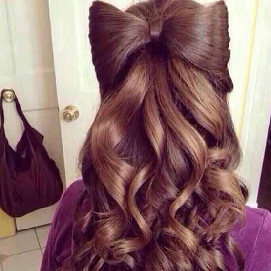 Penteados diferentes para meninas do vintage
