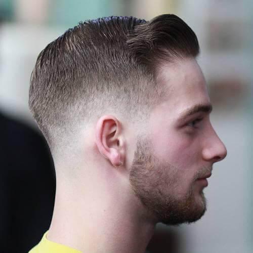 50 cortes de cabelo lustrados da liga da hera para homens