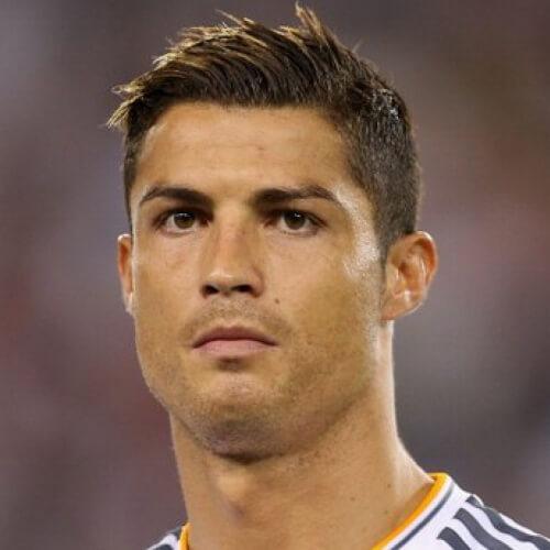 50 penteados de Cristiano Ronaldo