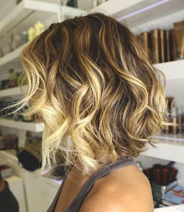 Tendência 2018 penteado elegante e cortes de cabelo curtos