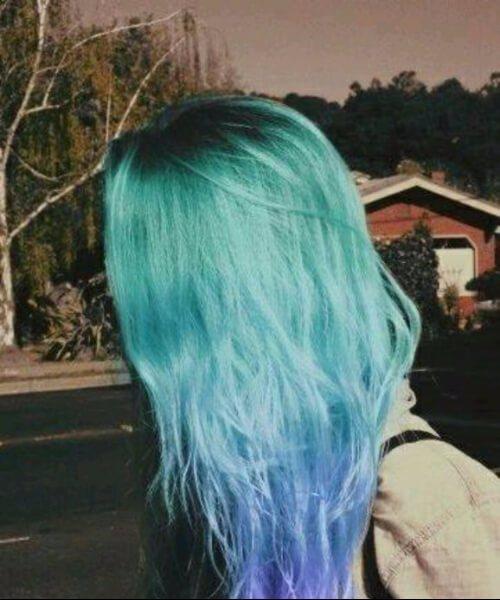 50 ideias surpreendentes de cabelo roxo Ombre