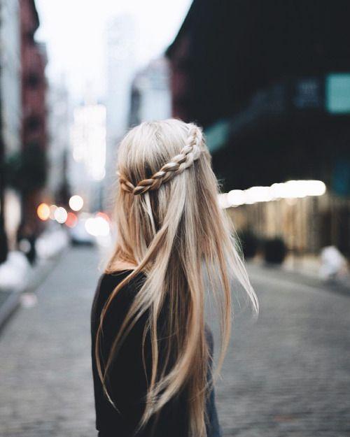 Novo penteado casual olhar para meninas modish