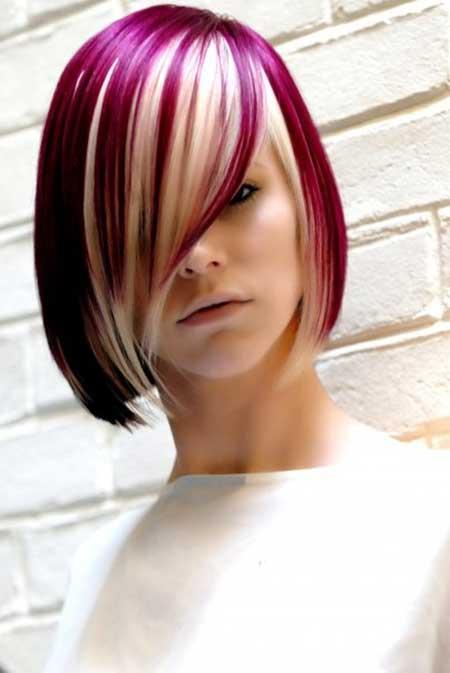 Destaques, cor de cabelo, corte de cabelo e penteado para meninas