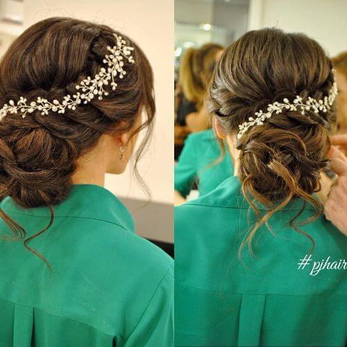 80 updos trançados lindos para todos os tipos de cabelo