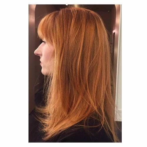 50 idéias de cabelo loiro morango que parecem incríveis