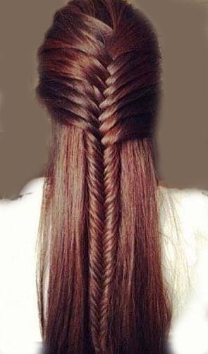 Idéias para penteado para cabelos lisos
