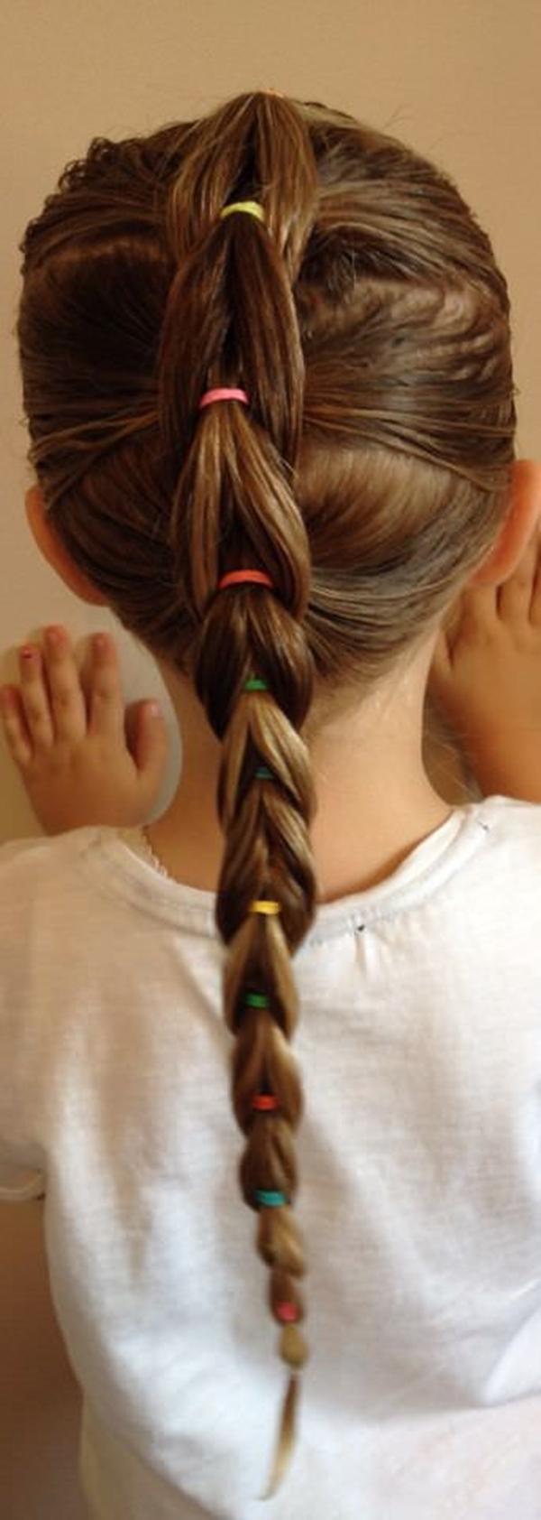 57 dos penteados mais doces que sua filha é certa amar
