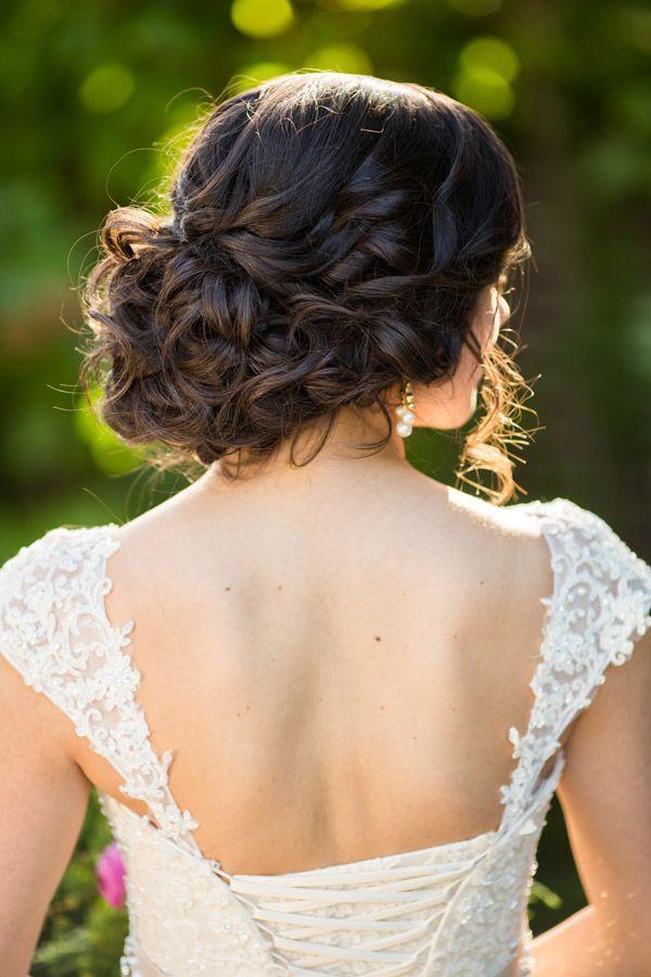 Idéias de penteado de casamento para cabelos naturalmente pretos