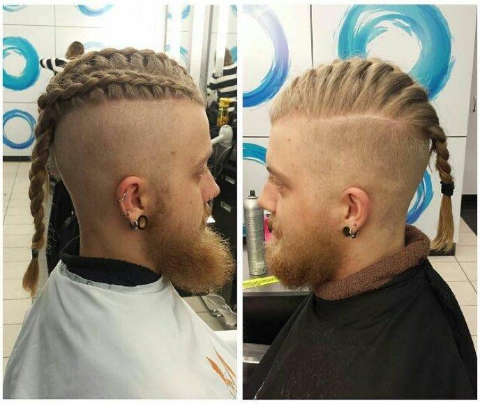Top 10 Cool Men idéias de penteado trançado