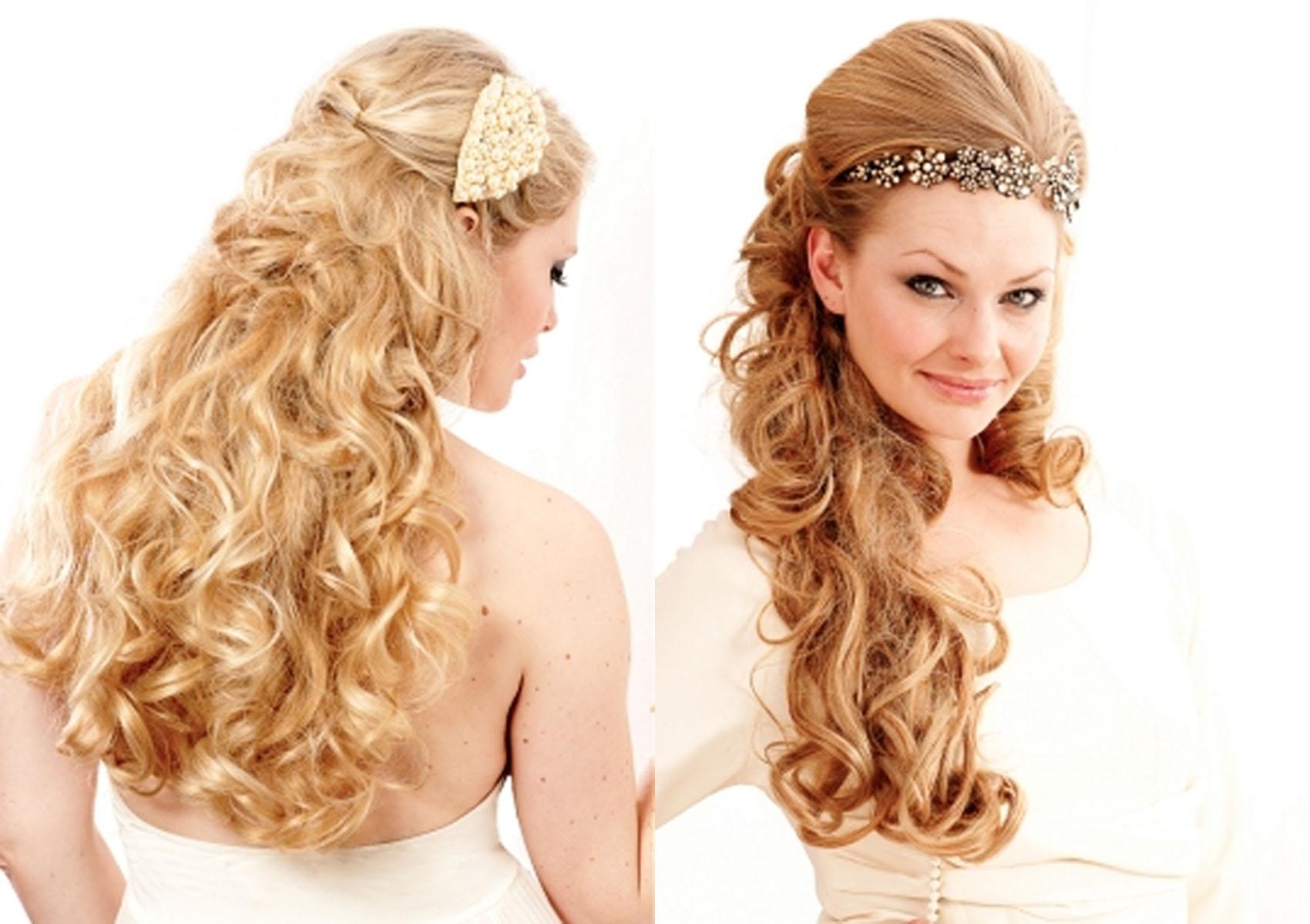 Numerosas tendências de cabelo para cabelos longos em formas formais e casuais