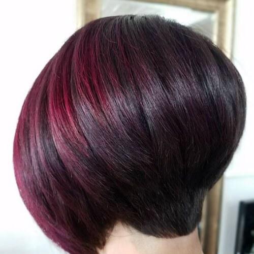 45 cabelo curto Jazzy com idéias de destaques