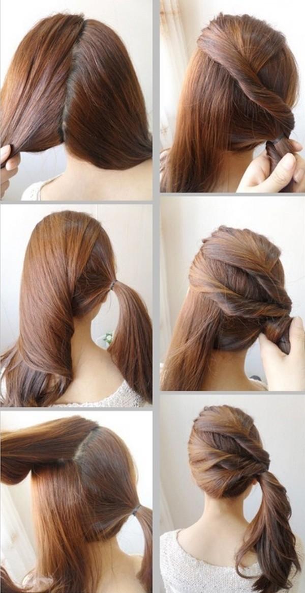 Idéias para fazer o penteado passo a passo exclusivo para o olhar da faculdade