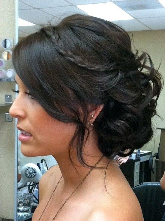 Ideias impressionantes do penteado do casamento para convidados do casamento