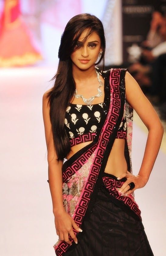 Penteados de glamour indiano para longos cabelos