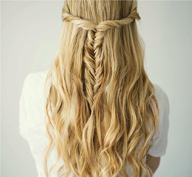 Idéias penteados simples e fáceis todos os dias para meninas