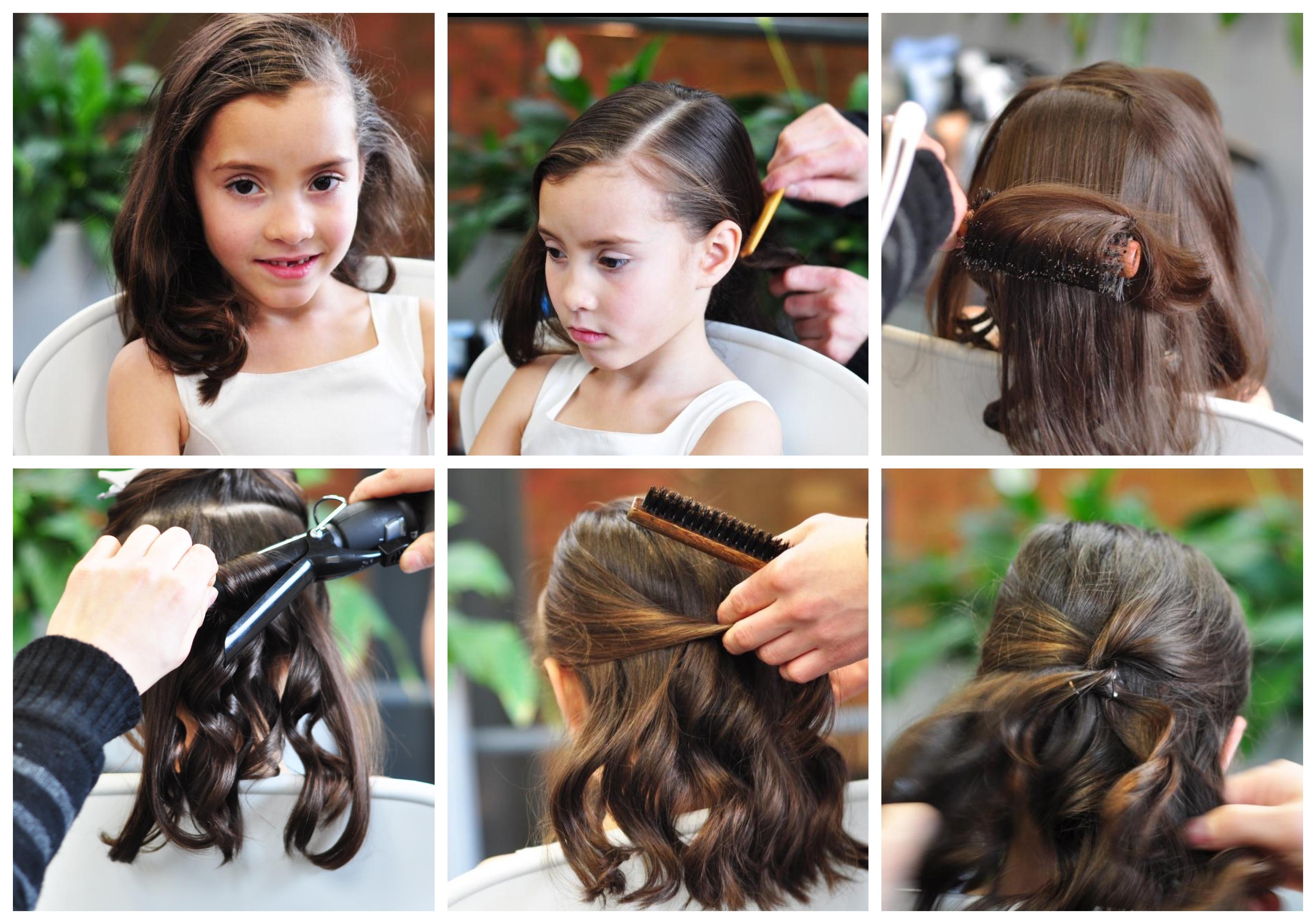 Estilos de cabelo chique mais recentes das meninas com etapas