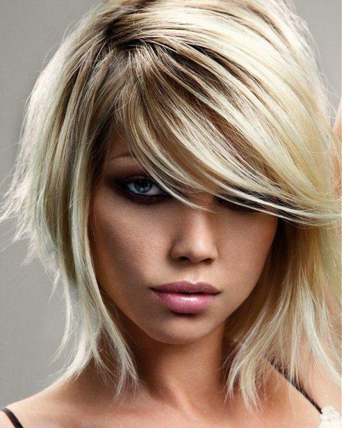 Penteados Emo curtos proeminentes para meninas