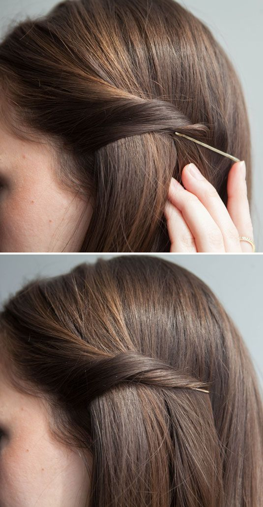 Idéias fáceis de fazer penteados simples para meninas