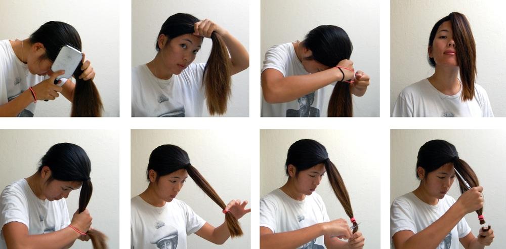Idéias fáceis do corte do cabelo da etapa para cabelos longos em Lyres