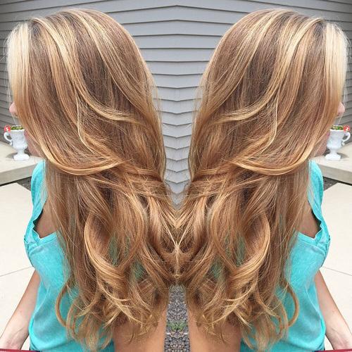 Diferentes tons de cor de cabelo loiro 2018