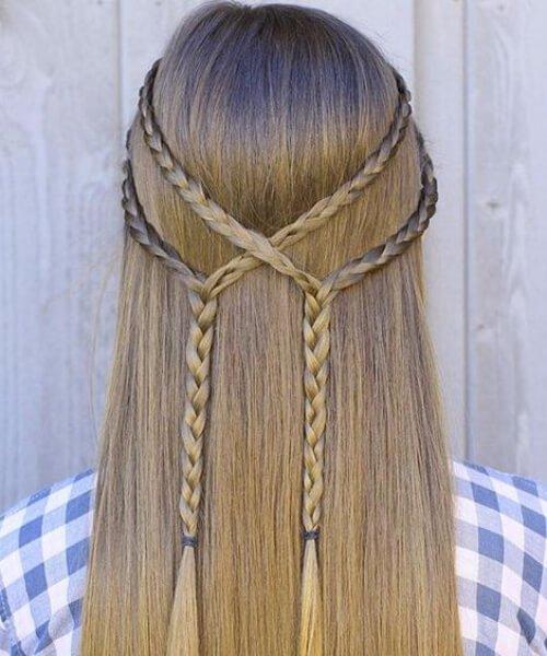 50 Penteados Adoráveis Meninas