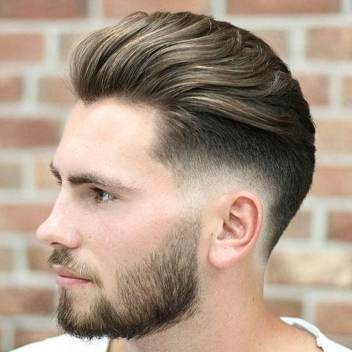 50 Widows Peak penteados para homens