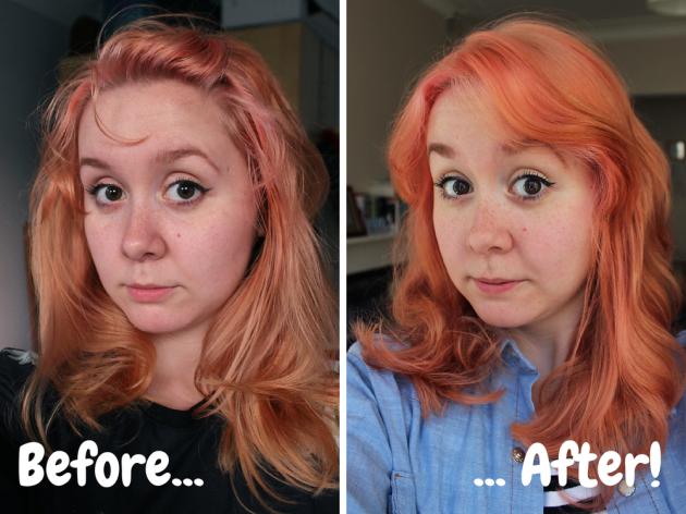 Como pode aceitável seus cabelos de tintura ruim?