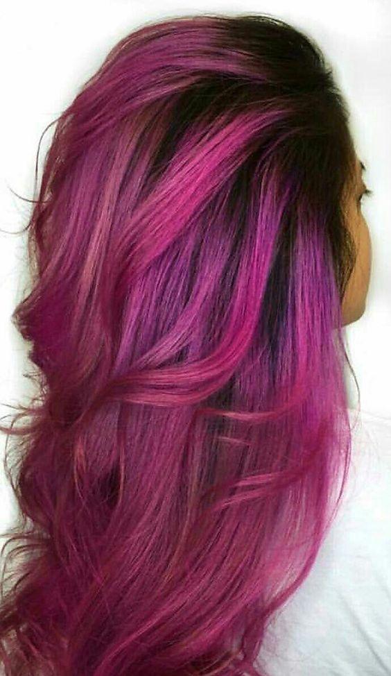 Tenha um olhar fresco com estas ideias de cor de cabelo legal