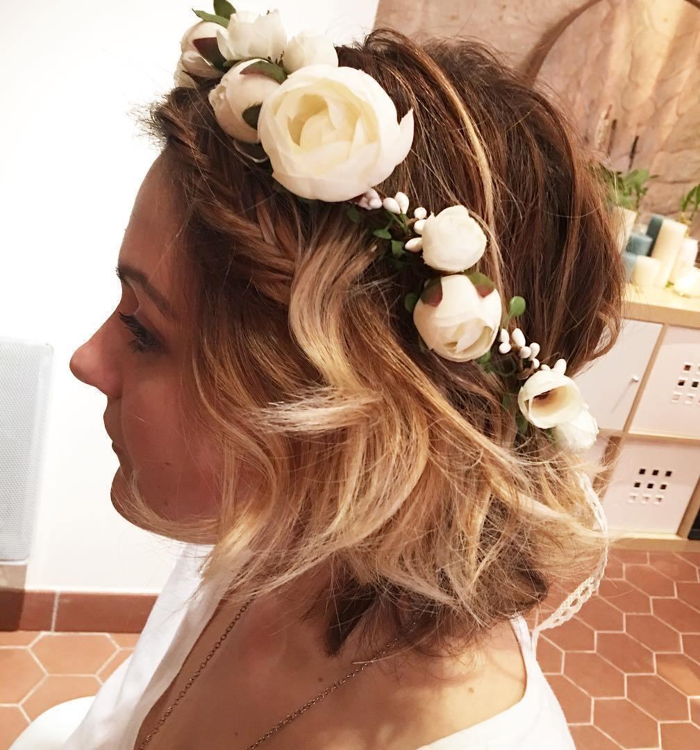 Deixe seus cabelos curtos para impressionar os casamentos