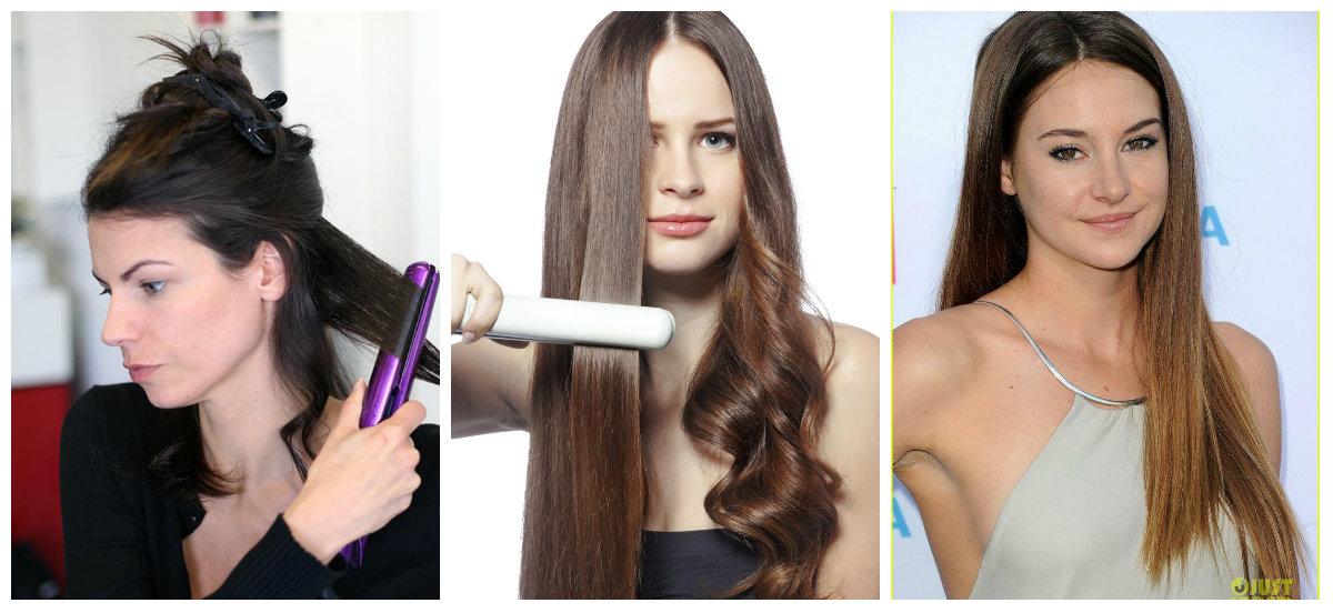 Alisador de cabelo é a melhor maneira de pentear o cabelo rapidamente