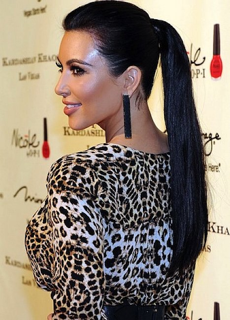 Últimas idéias de penteado rabo de cavalo para as mulheres