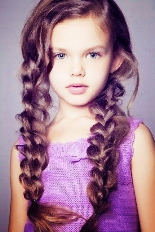 Excusive Doll Style Hair faz idéias para meninas