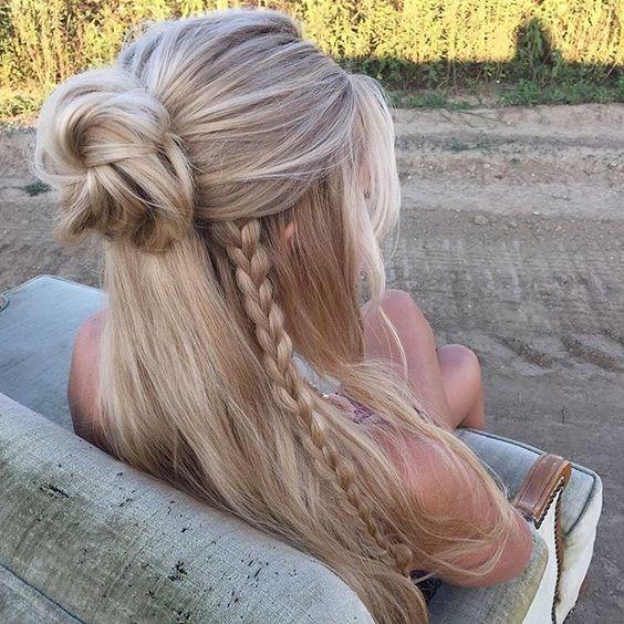 Penteados Trançados Deslumbrantes do Verão para o Outono