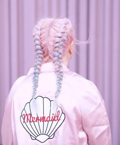 cabelo de sereia de doces
