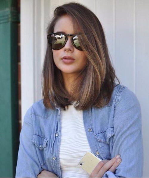 Os melhores 70 cortes de cabelo para rostos redondos