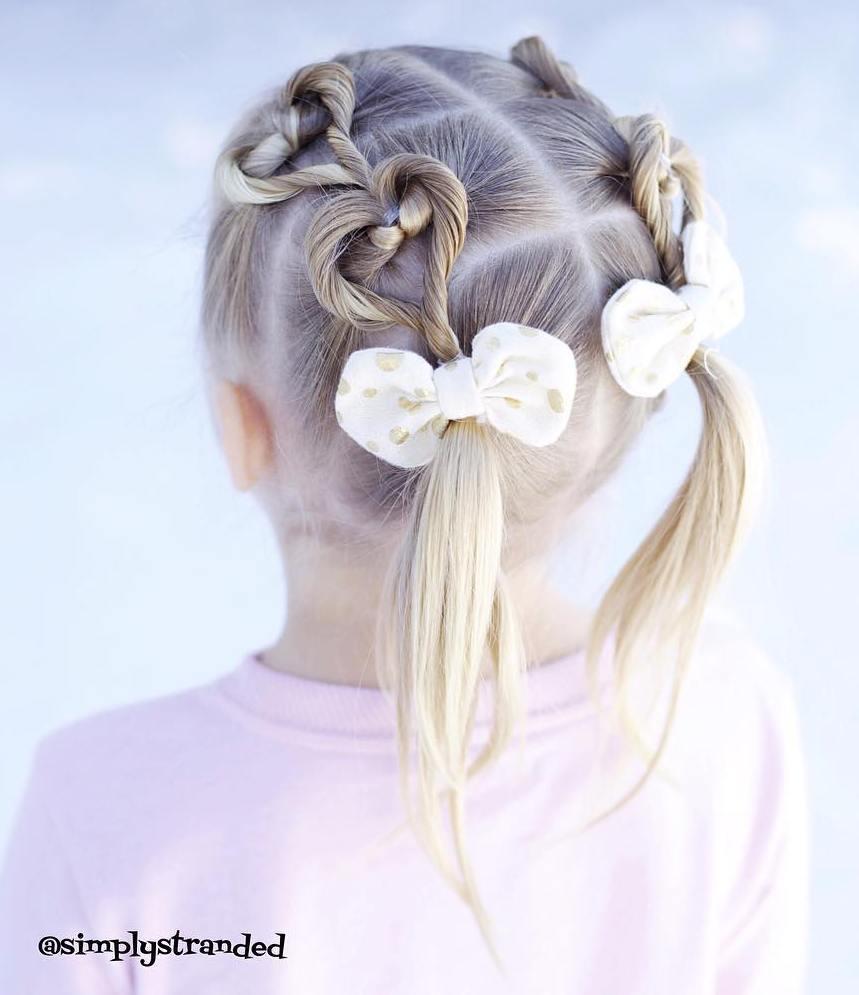 Penteados super fofos e fáceis para as meninas