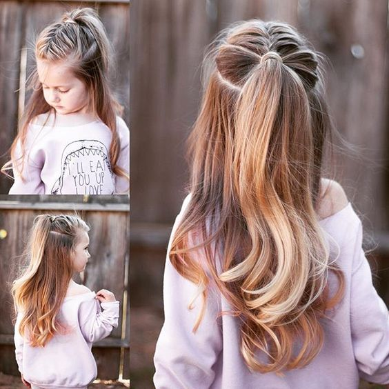 Melhores idéias Hairstyling para Little Princess Like Girls