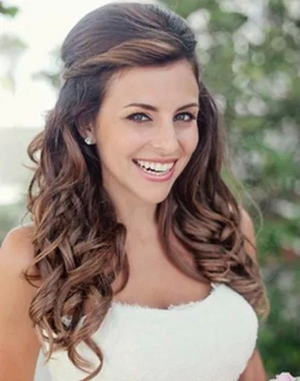 Top 25 idéias de penteado mais bonitas e românticas para o dia do casamento de uma noiva