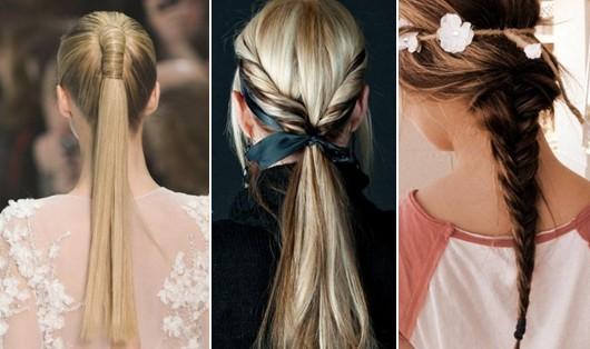 Pontas surpreendentes dos penteados para cabelos longos